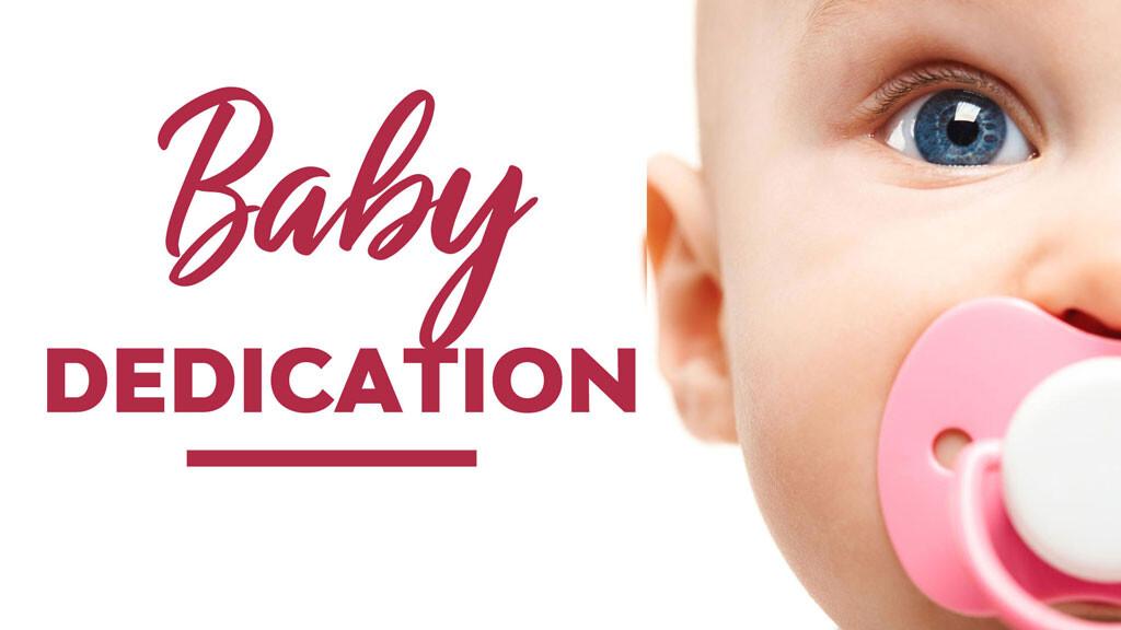 Child/Baby Dedication